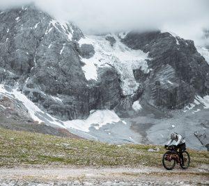 Utilisatrice de Restrap pour Bikepacking