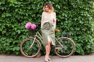 Vêtement vélotaf la jupe
