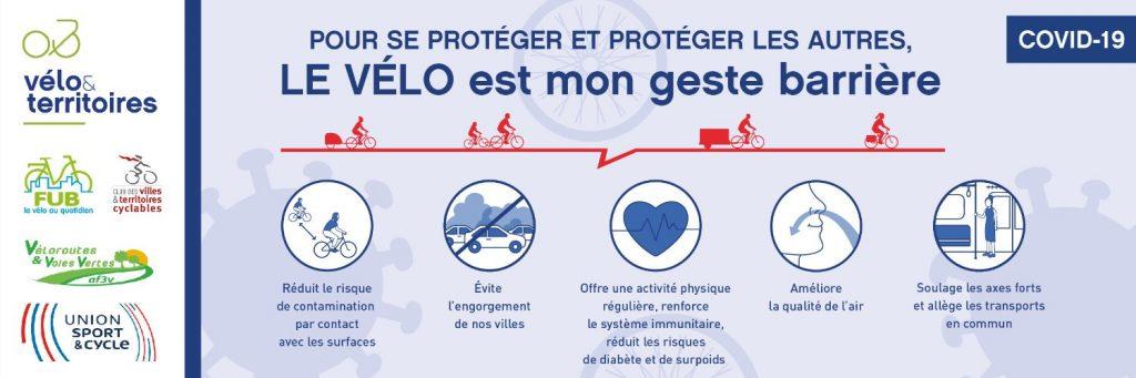 Le vélo comme geste barrière