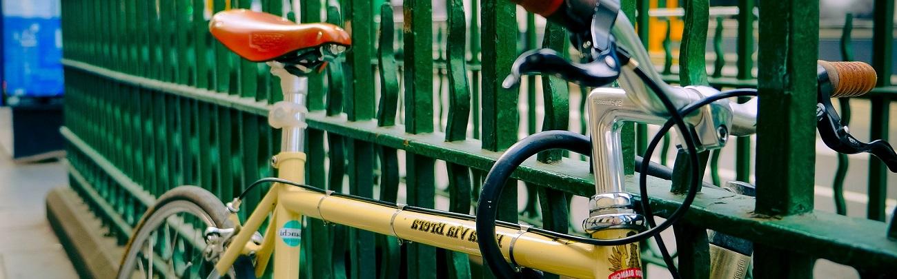 Rénovation originale d'un vélo ancien