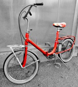 vélo pliant vintage