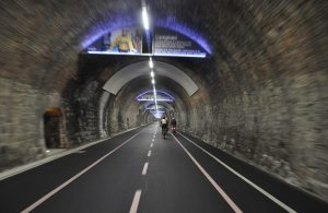 piste cyclable tunnel