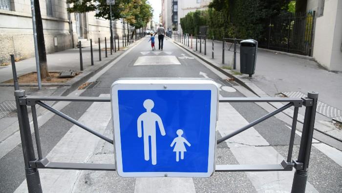 projet route interdit aux véhicules