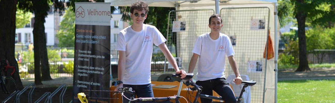 Velhome, des parking vélos sécurisés entre particuliers