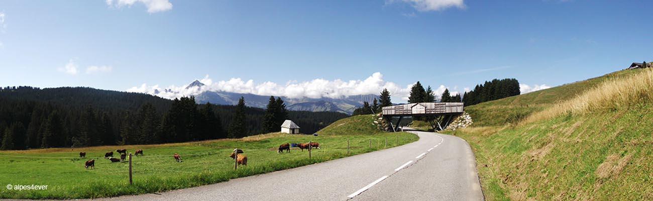A la découverte de la Route des Grandes Alpes® à Vélo