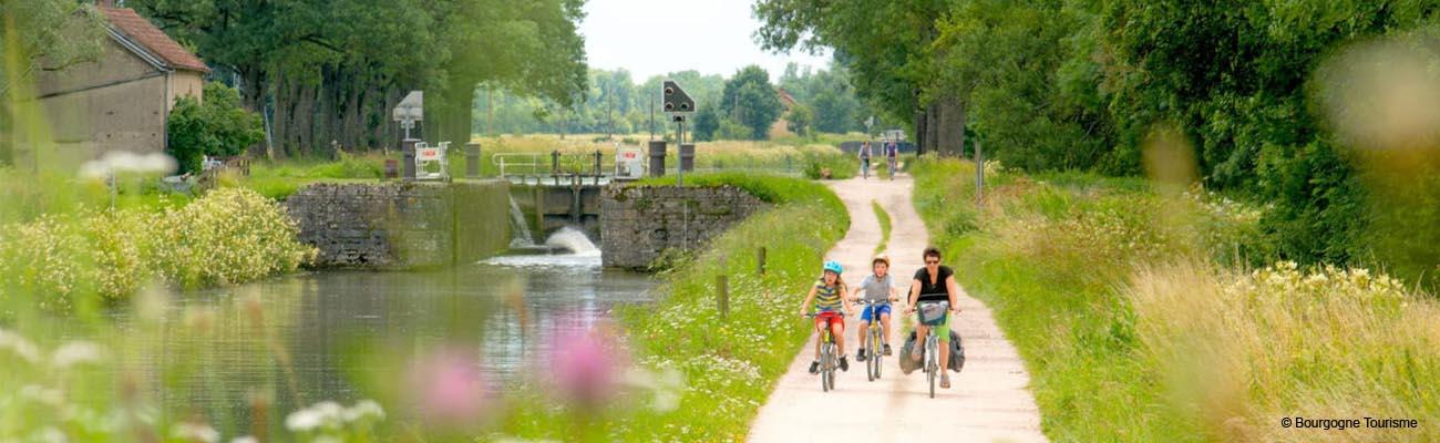 En selle pour le tour de Bourgogne à vélo