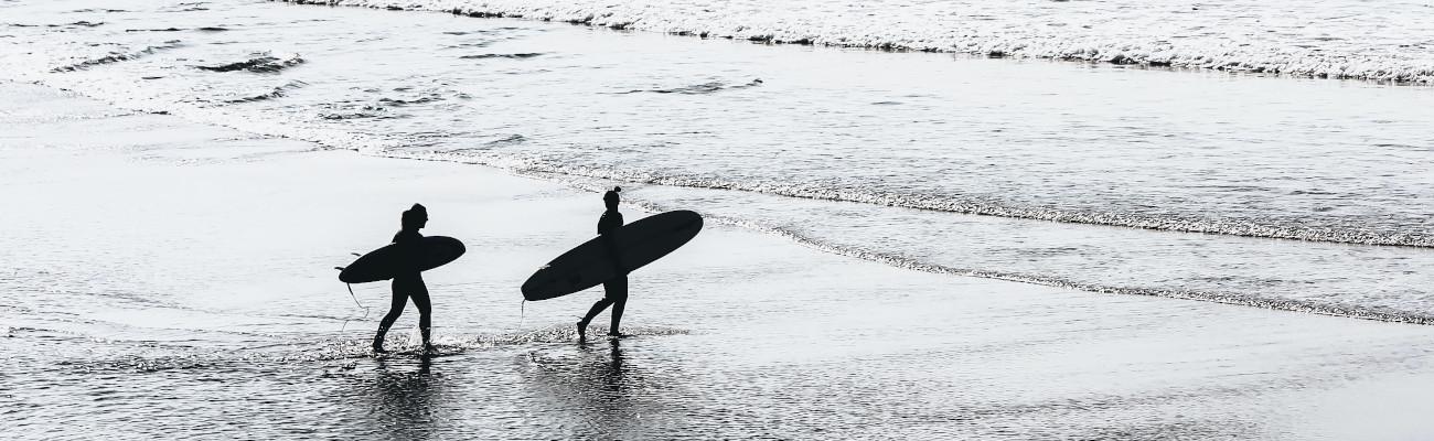 Surf trip à vélo