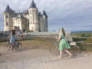 Arrivée au chateau de Saumur