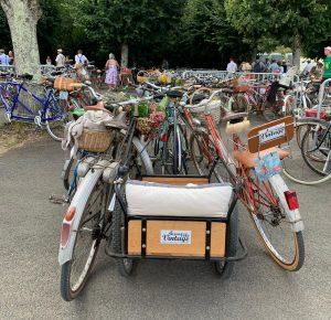 remorque à l'anjou vélo vintage