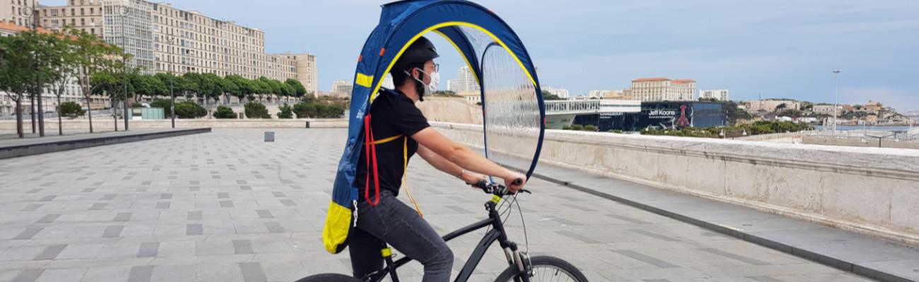 Avis Bub-up® : que pensent les cyclistes de la bulle de protection ?