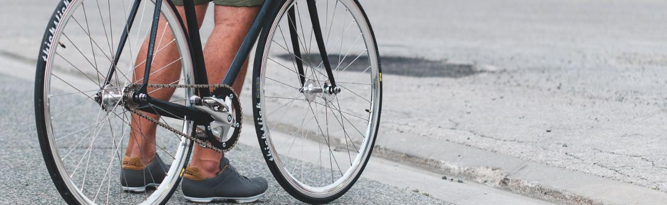 Pneu vélo pour coursiers à vélo en fixie