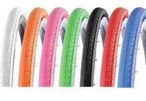 pneus colorés vélo fixie Kenda