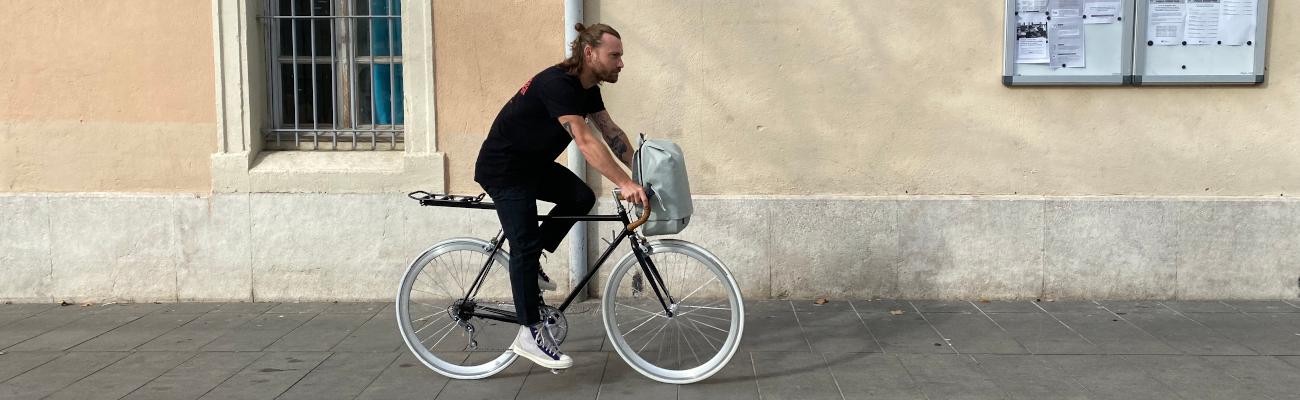Test du sac à dos Fil'x : le compagnon parfait du vélotaf