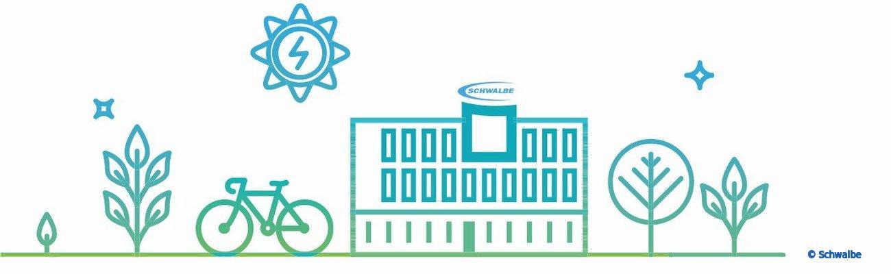 Schwalbe : recyclage des chambres à air et technologies vertes